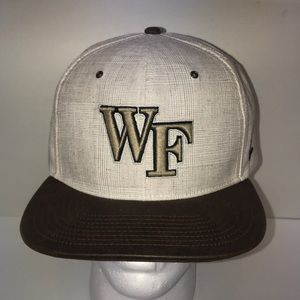 Men's Wake Forest University Hat New with Tags